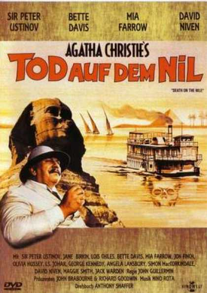 German DVDs - Agatha Christies Death On The Nile