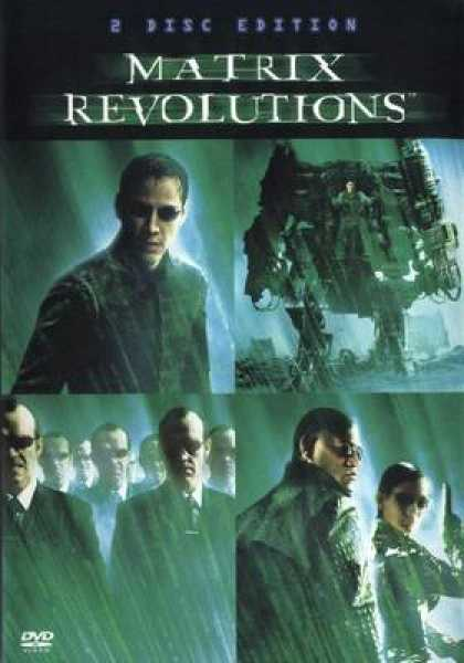 German DVDs - The Matrix Revolutions 2