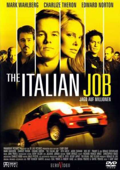 German DVDs - The Italian Job Original