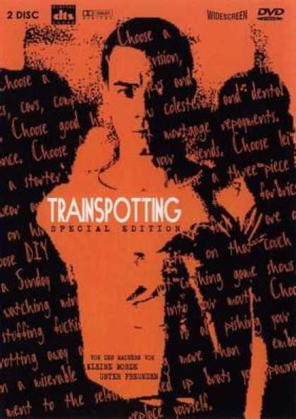 German DVDs - Trainspotting Special