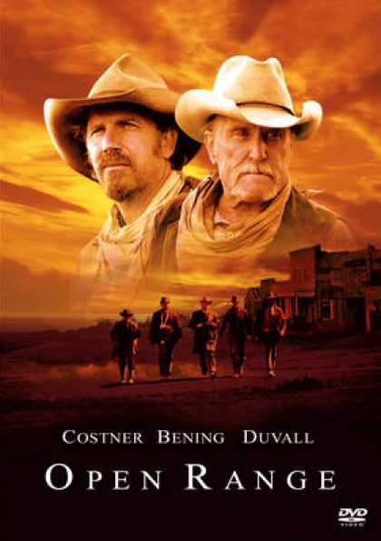 German DVDs - Open Range