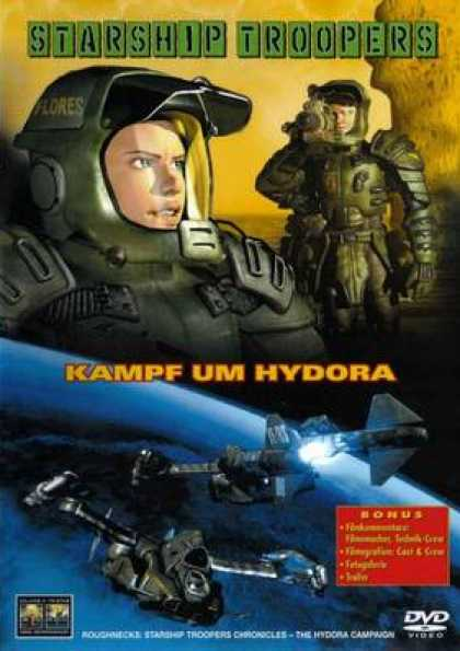 German DVDs - Starship Troopers Battle Hydora