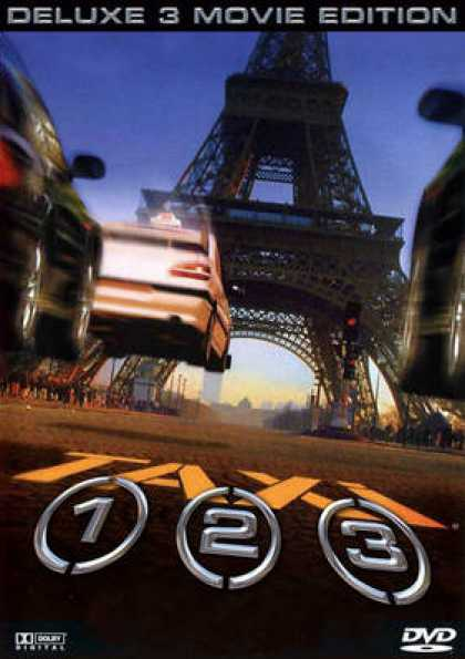 German DVDs - Taxi 1 - 3 Deluxe 3 Movie