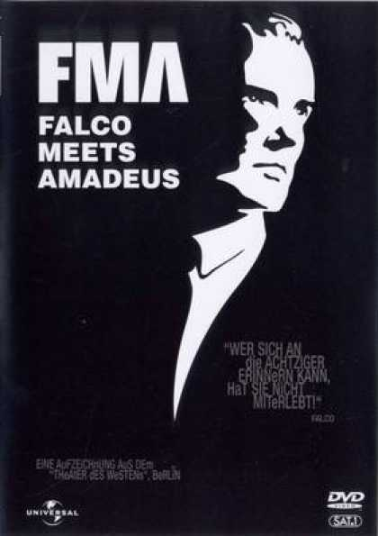 German DVDs - Falco Meets Amadeus