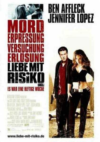 German DVDs - Gigli