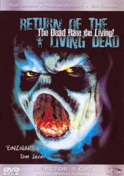 German DVDs - The Dead Hate The Living Directors Cut