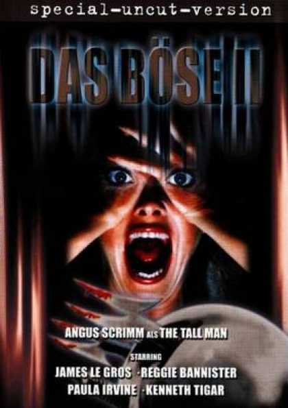 German DVDs - The Evil 2 Special Uncut Version
