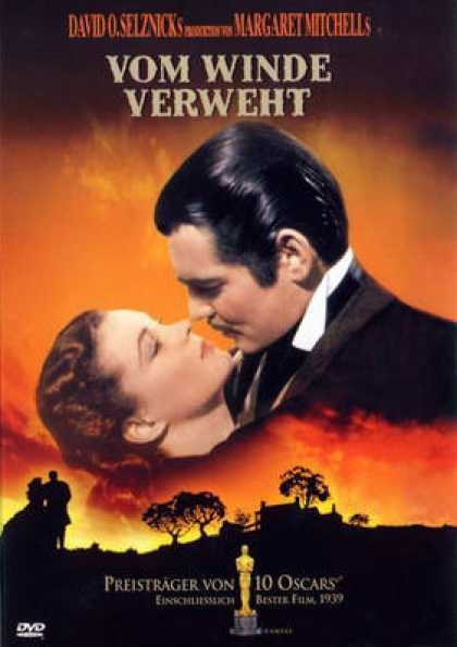 German DVDs - Gone With The Wind