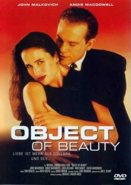 German DVDs - Object Of Beauty