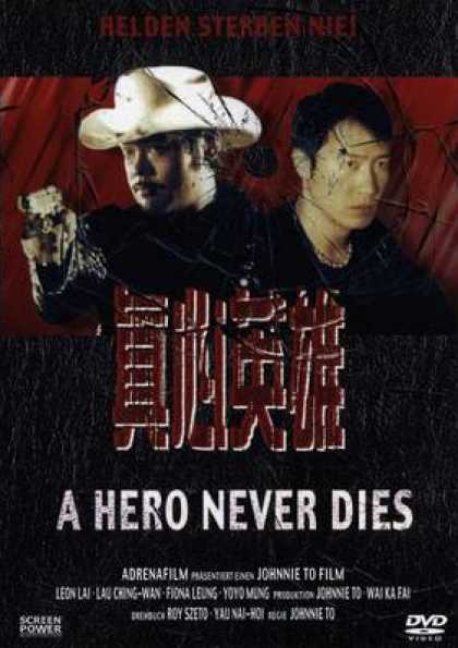 German DVDs - A Hero Never Dies