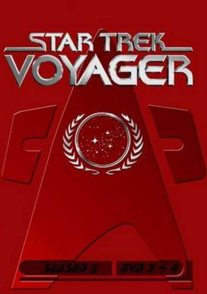 German DVDs - Star Trek Voyager Season 02 Disc 3 - 4