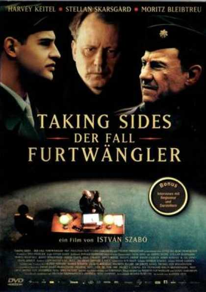 German DVDs - Taking Sides (Der Fall Furtwängler)