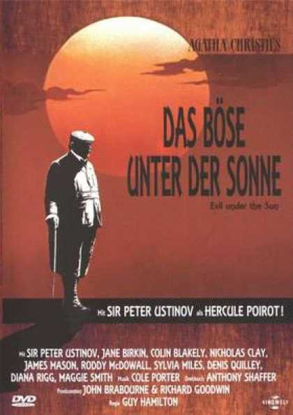German DVDs - Evil Under The Sun