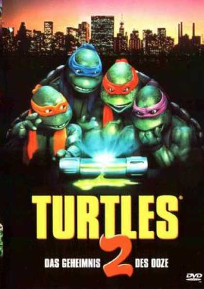 German DVDs - Teenage Mutant Ninja Turtles 2