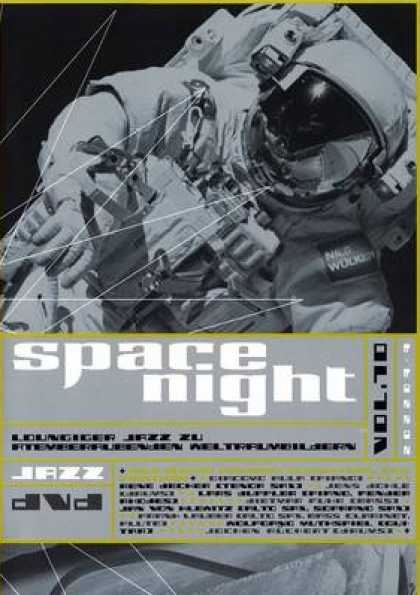 German DVDs - Space Night Jazz Volume 10