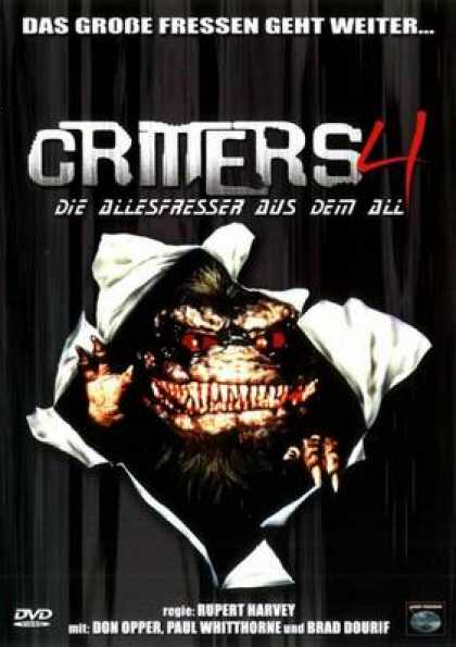 German DVDs - Critters 4
