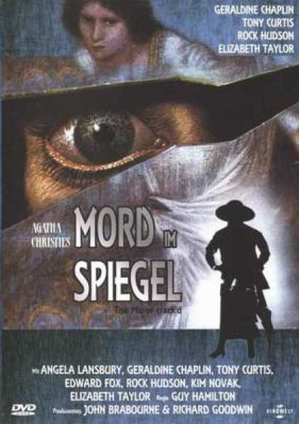 German DVDs - Agatha Christie The Mirror Cracked