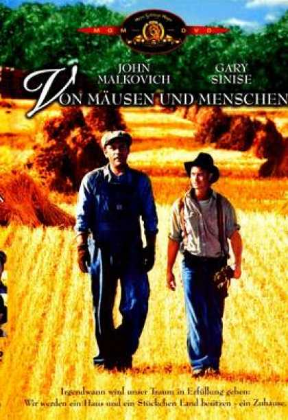 German DVDs - Of Mice And Men
