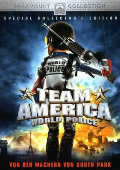 German DVDs - Team America: World Police SCE