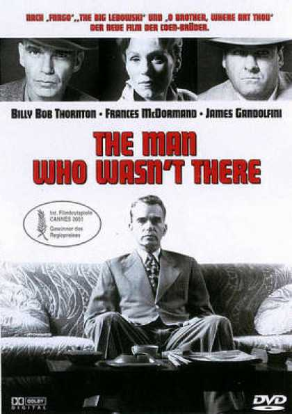 German DVDs - The Man Who Wasnt There