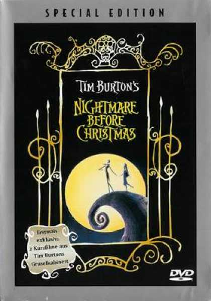 German DVDs - The Nightmare Before Christmas