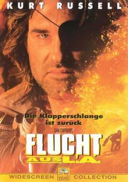 German DVDs - Escape From L A