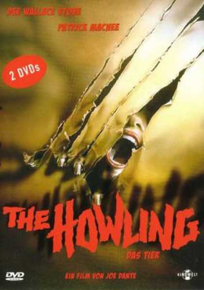 German DVDs - The Howling (Das Tier)