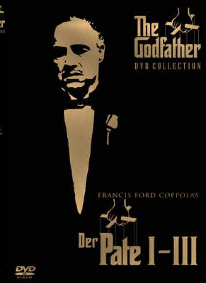 German DVDs - The Godfather Trilogy