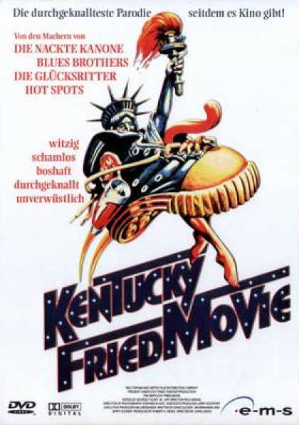 German DVDs - The Kentucky Fried Movie 1977