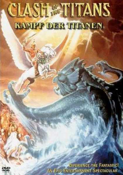 German DVDs - Clash Of The Titans
