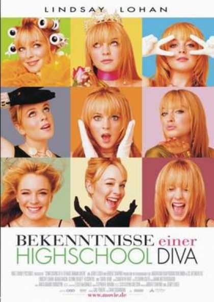 German DVDs - Confessions Of A Teenage Drama Queen