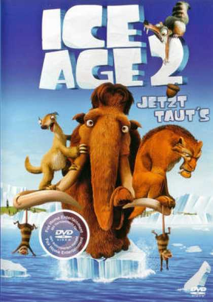 German DVDs - Ice Age 2 The Meltdown