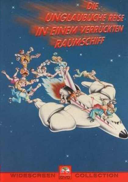 German DVDs - The Incredible Trip In A Crazy Spaceship