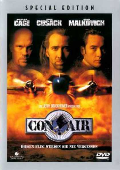 German DVDs - Con Air