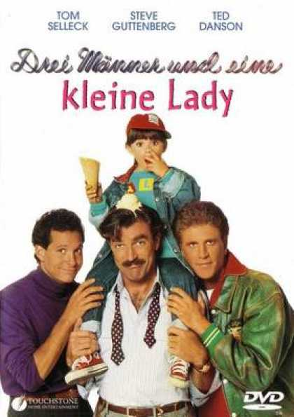 German DVDs - Three Men And Little Girl