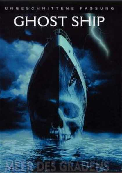 German DVDs - Ghost Ship