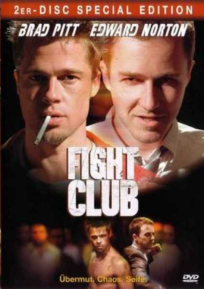 German DVDs - Fight Club Special