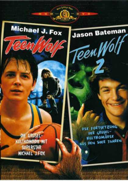 German DVDs - Teen Wolf And Teen Wolf 2