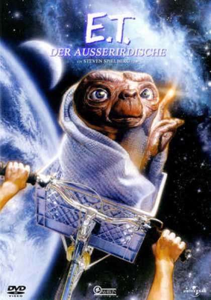 German DVDs - E.T. The Extra-Terrestrial