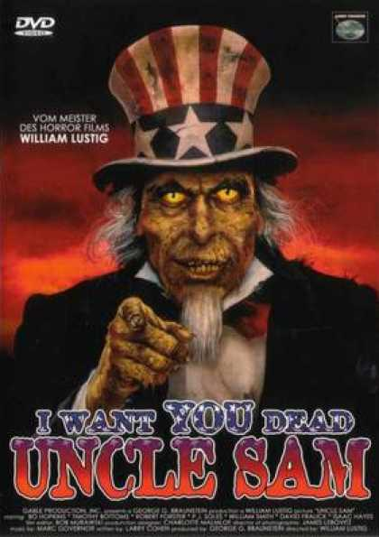 German DVDs - I Want You Dead Uncle Sam