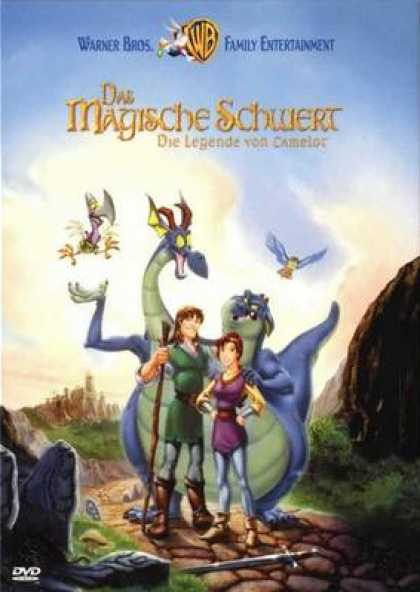 German DVDs - The Quest For Camelot