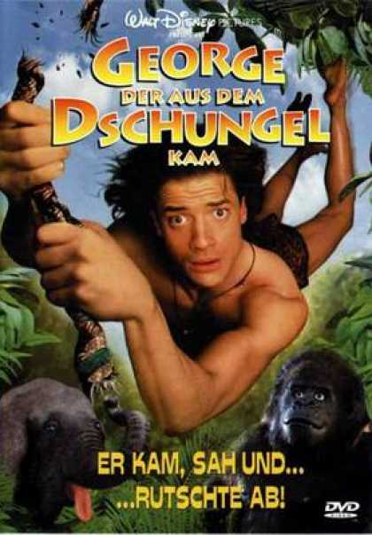 German DVDs - George Of The Jungle
