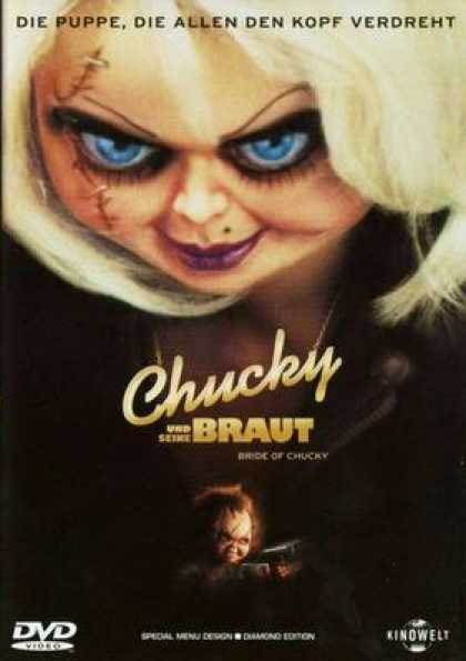 German DVDs - Bride Of Chucky