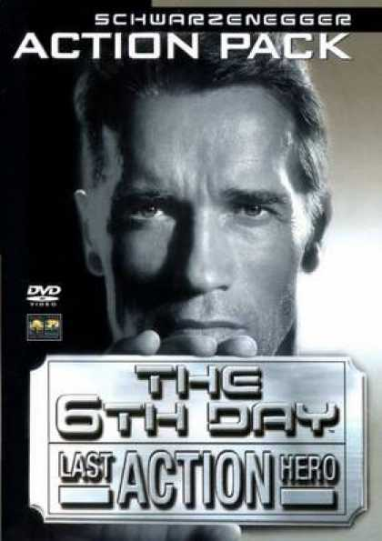 German DVDs - Schwarzenegger Action Pack