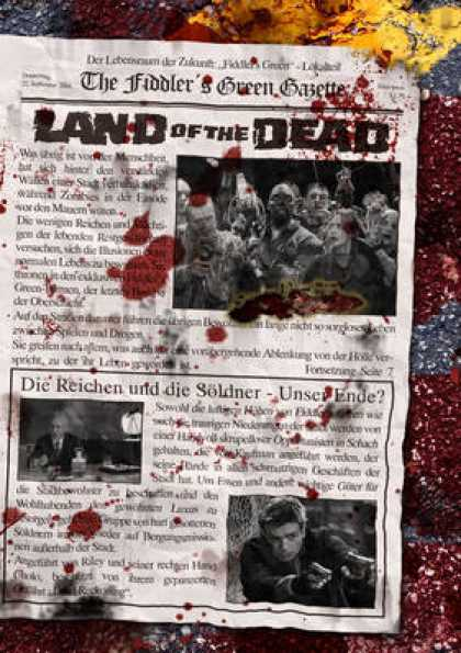 German DVDs - Land Of The Dead