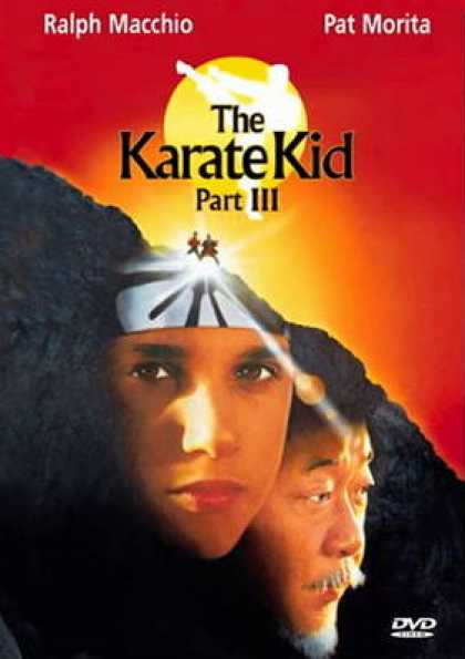 German DVDs - The Karate Kid 3