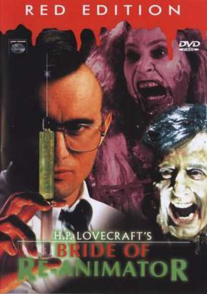 German DVDs - Bride Of Re-Animator - Red