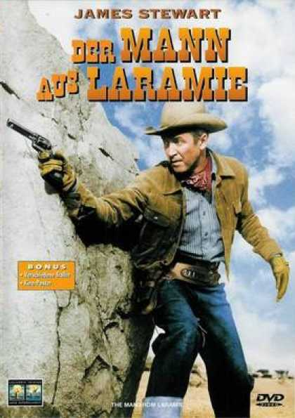German DVDs - The Man From Laramie