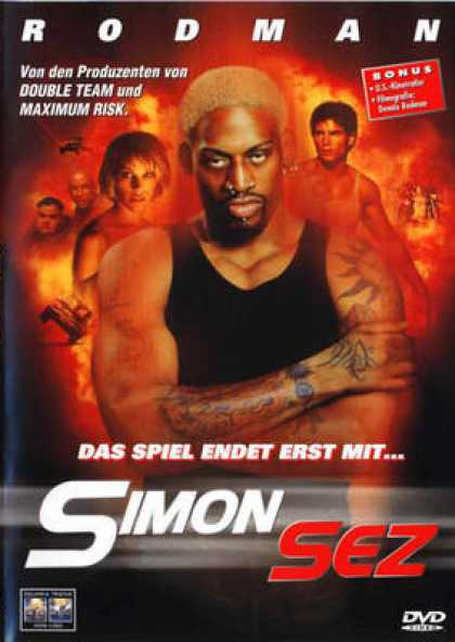 German DVDs - Simon Sez