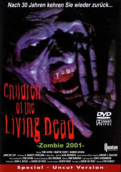 German DVDs - Children Of The Living Dead